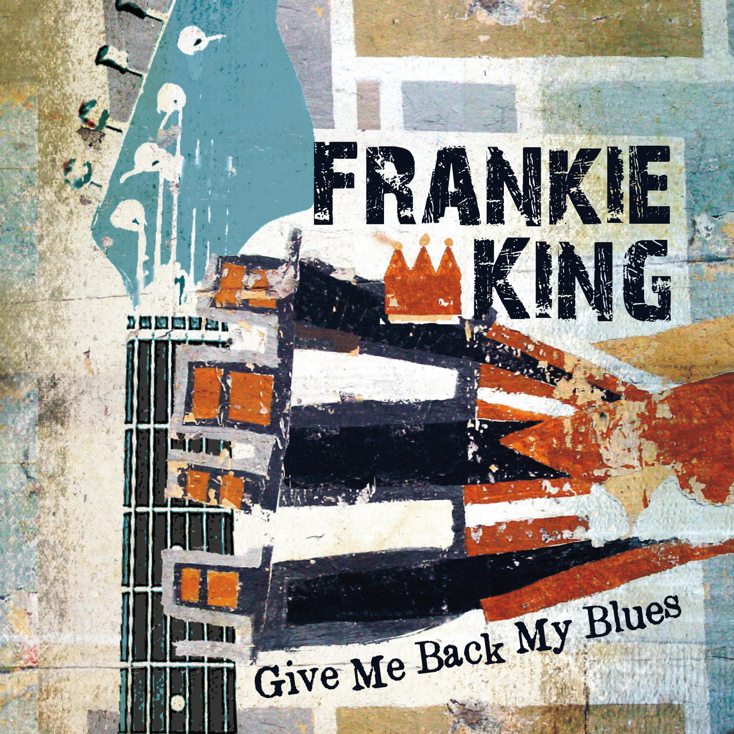 CD package design (wallet) for Frankie King.