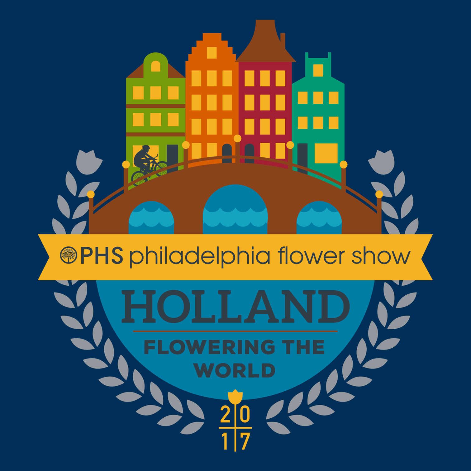 Merchandise designs for the 2017 PHS Philadelphia Flower Show, such as coasters, teddy bears, t-shirts, pins, magnets, mugs, postcards and more. Won gold for Best Overall Merchandise Program and silver for Best Clothing at the International Festivals & Events Association's annual Pinnacle Awards.