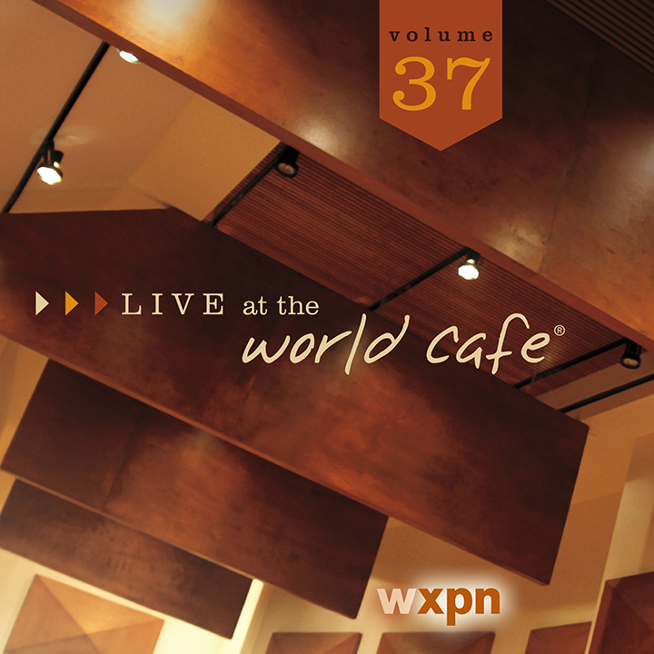 CD package design (six-panel jewel case) for WXPN Live at the World Cafe, Volume 37.